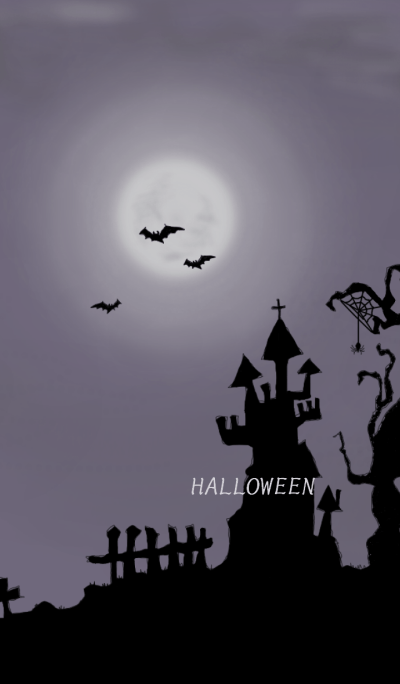 Happy Halloween Night**colors black