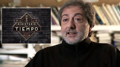 Javier Olivares, creador de la serie El Ministerio del Tiempo