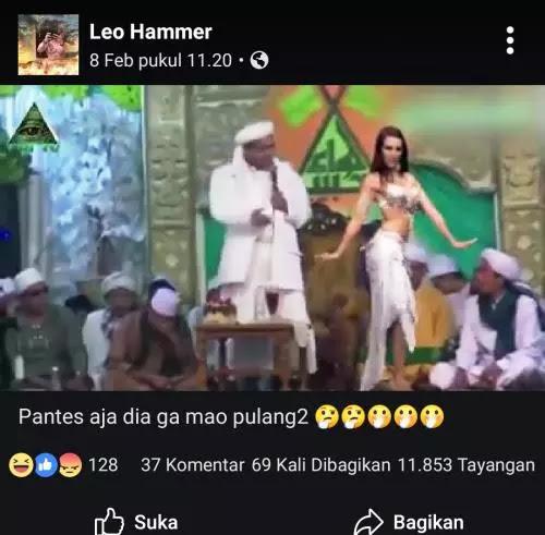 Habib Rizieq Kembali Difitnah, Kali Ini dengan Video Penari Perut