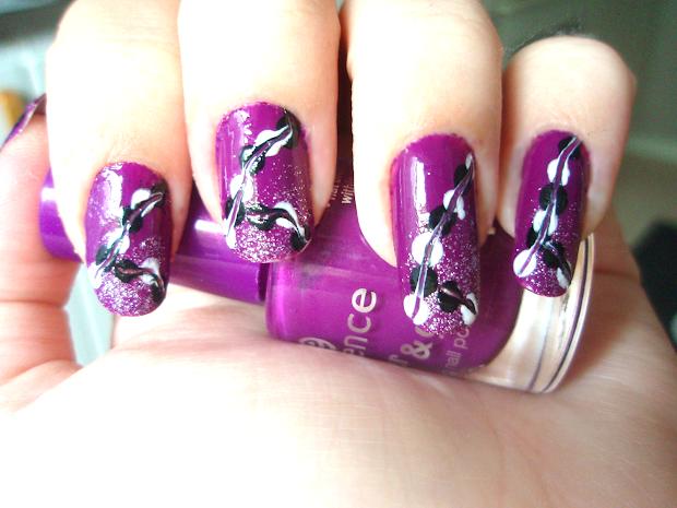 Makeup Nail Art