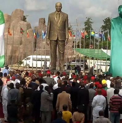 jacob zuma statue owerri imo state