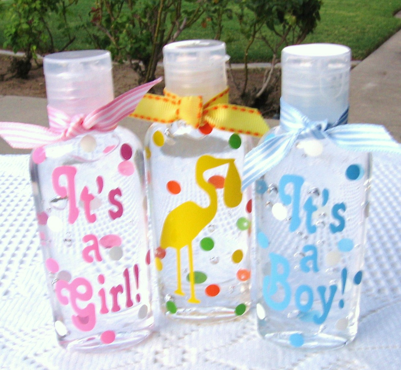 Santa's Gift Shoppe Year~Round: Baby Shower Favors