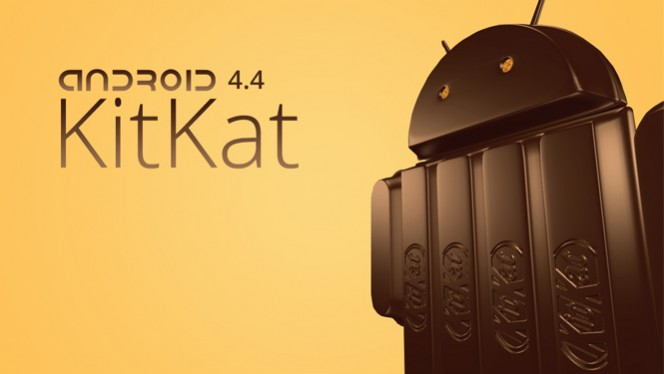 Logo do Android 4.4 KitKat