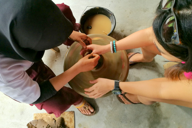Pottery-making Indonesia