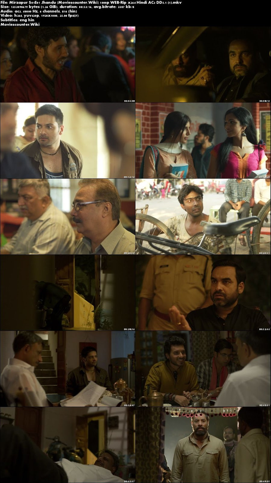 Screen Shots Mirzapur 2018 Season 1 Full Episodes 1080p