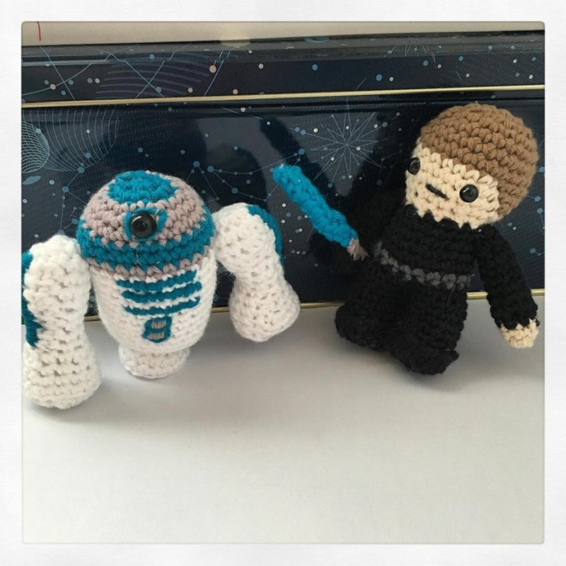El taller de Naid?: Star Wars en version amigurumi