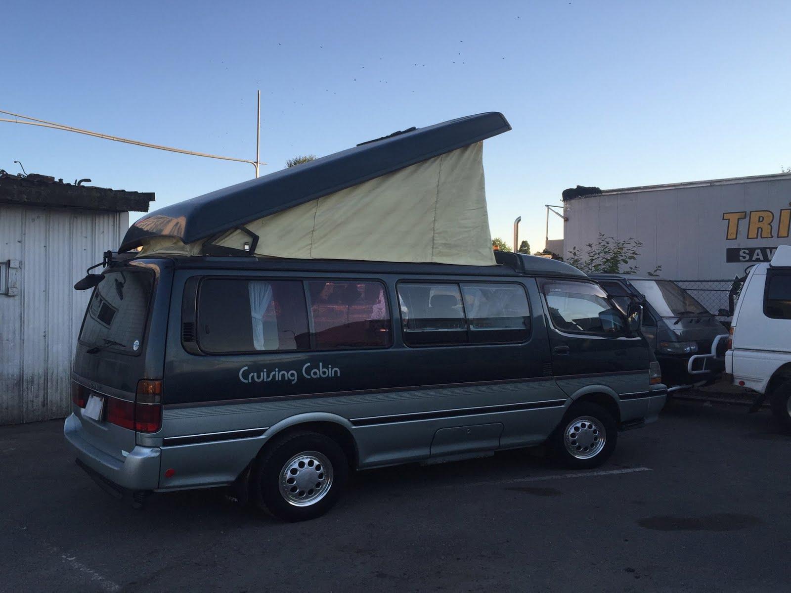 Toyota Hiace Camper Van 1991 Diesel Engine