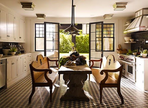 Kitchen Dining Room Combo Layout Narrow