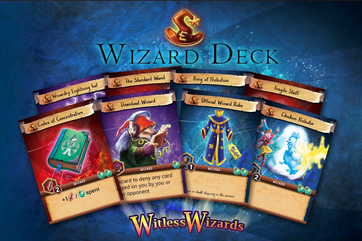 witless wizards wizard deck