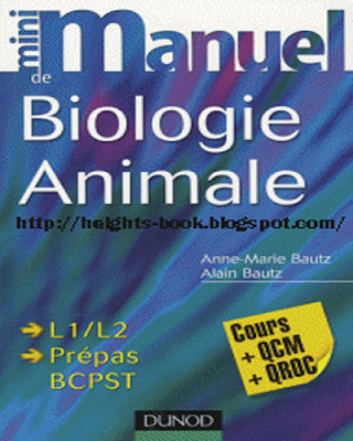 Télécharger Livre Gratuit Mini manuel de biologie animale pdf