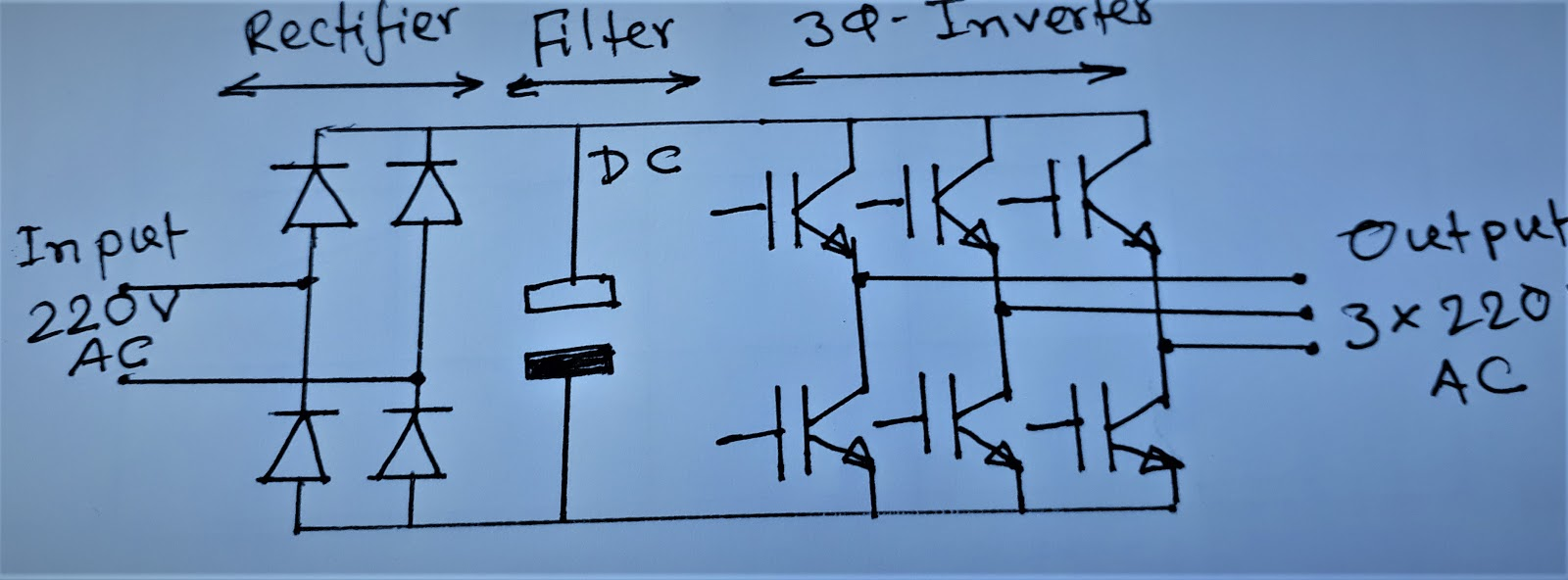 How Can Convert Single Phase Power Into Three Phase?