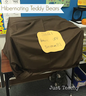 Hibernating Teddy Bears