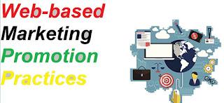 Web-based Marketing Promotion Practices