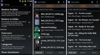 Cara Mengembalikan File Hilang / Terhapus di Android