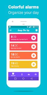 تطبيق Snap Me Up للمساعدة على الاستيقاظ