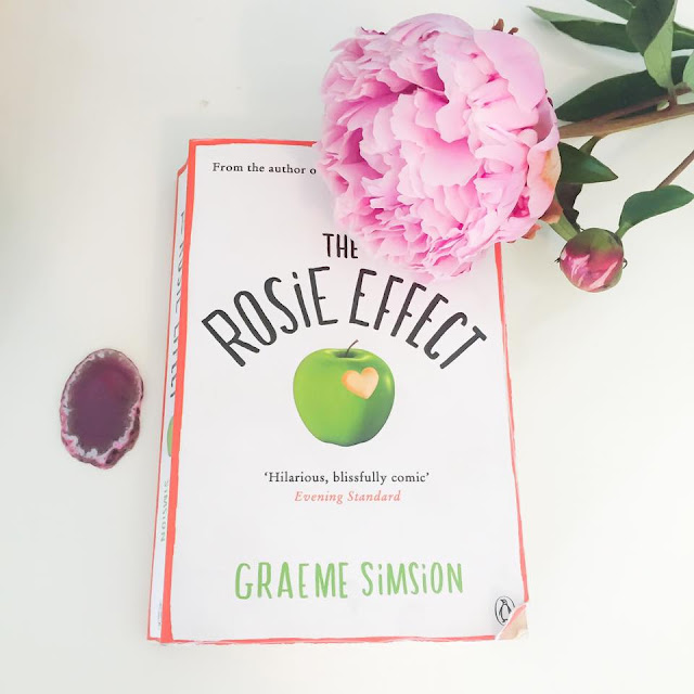 The Rosie Effect- Graeme Simsion Kaleidoscope peonies book review