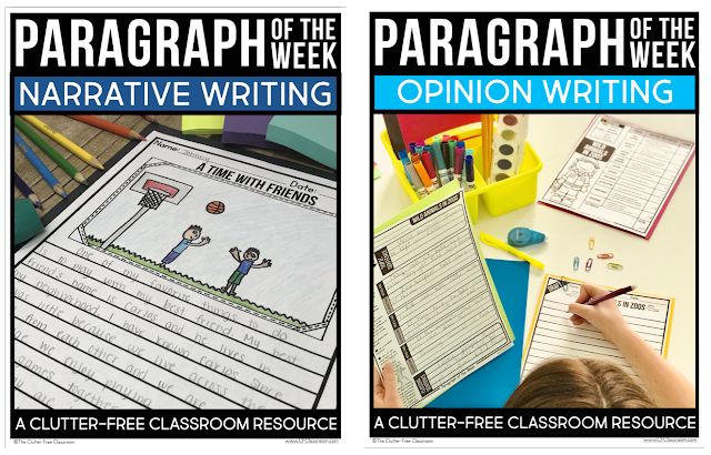 Learn how to teach paragraph writing, provide daily practice, and help your students become strong writers. Anchor charts, graphic organizers, writing templates and rubrics and checklists make it easy for kids to take the highly-engaging prompts and turn them into published products worthy of a bulletin board.