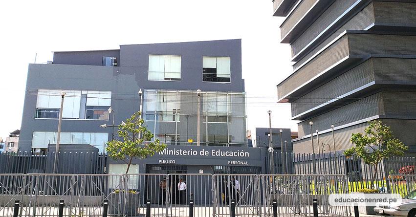 MINEDU: Postulantes al Nombramiento Docente tienen que ingresar información de trayectoria profesional en el Aplicativo del Ministerio de Educación - www.minedu.gob.pe