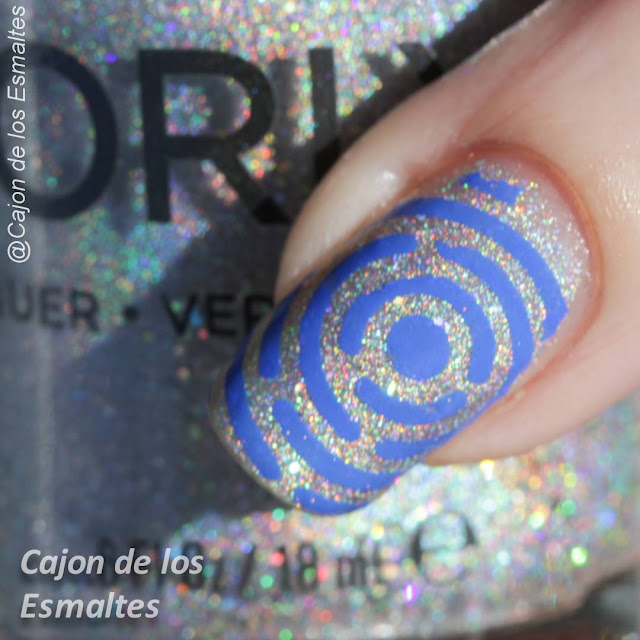 Orly Mirror Ball - placa Gogo Only St. Merry