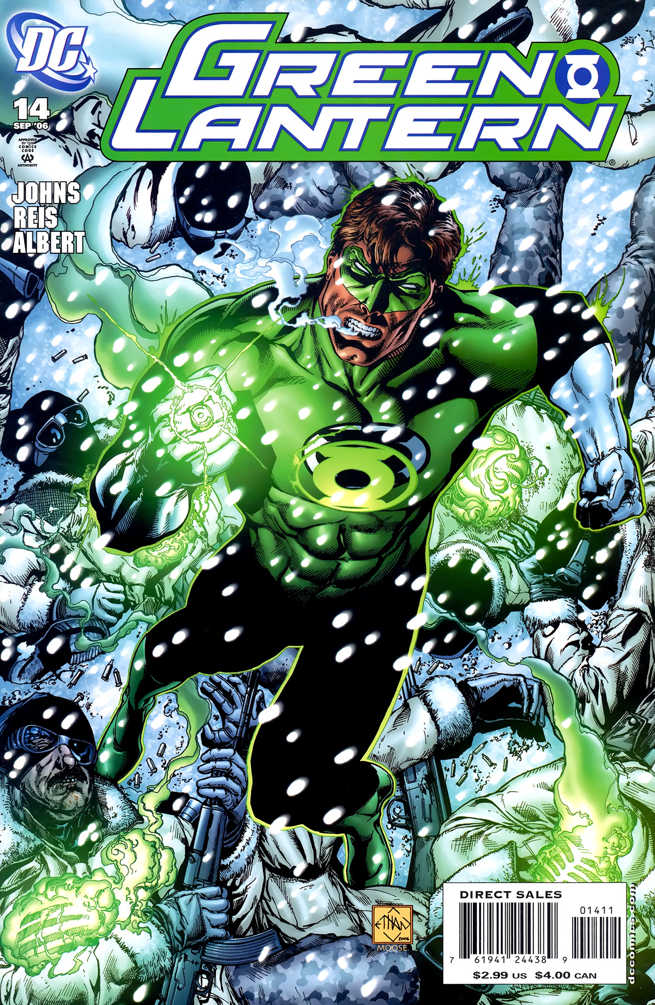 Green Lantern (2005) 14 Page 1