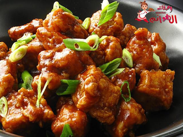 صدور الدجاج على الطريقة الصينية