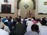 Pererat Silaturahmi Danramil 03/Serengan Sholat Jum'at di Masjid Al Hikmah