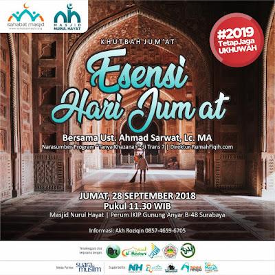 Agenda kajian Sunnah surabaya, dan kajian di sidoarjo oleh Sahabat Masjid Indonesia