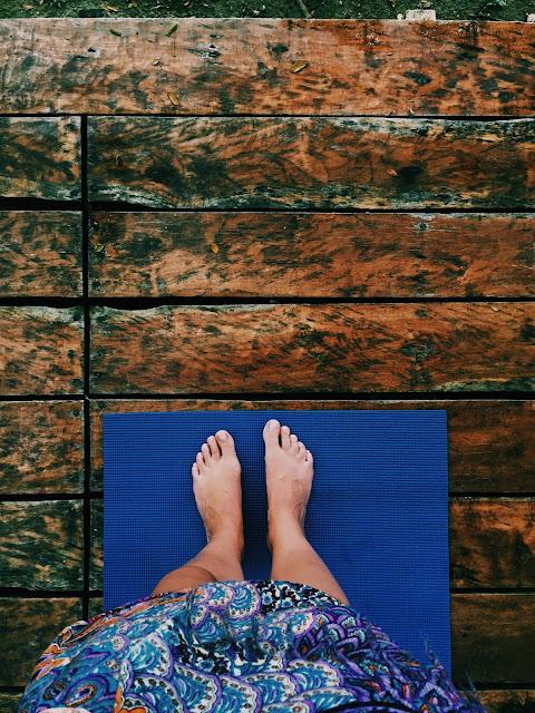 Yoga. Foto: Eidbjørg Søreide