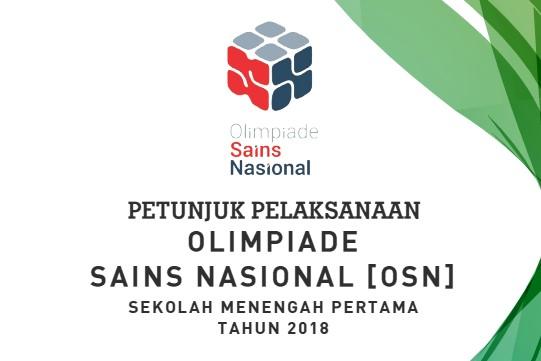untuk seleksi tingkat kabupaten akan dilaksanakan pada  Silabus OSN IPA SMP Tahun 2018