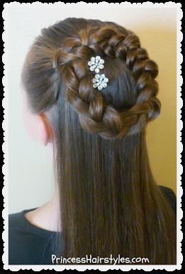Astounding Hairstyles For Girls Princess Hairstyles Short Hairstyles Gunalazisus