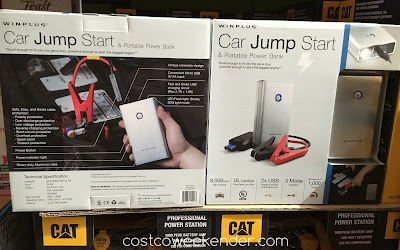 Costco 1750766 - Always a good idea to have this Lithium Jump Starter in your car
