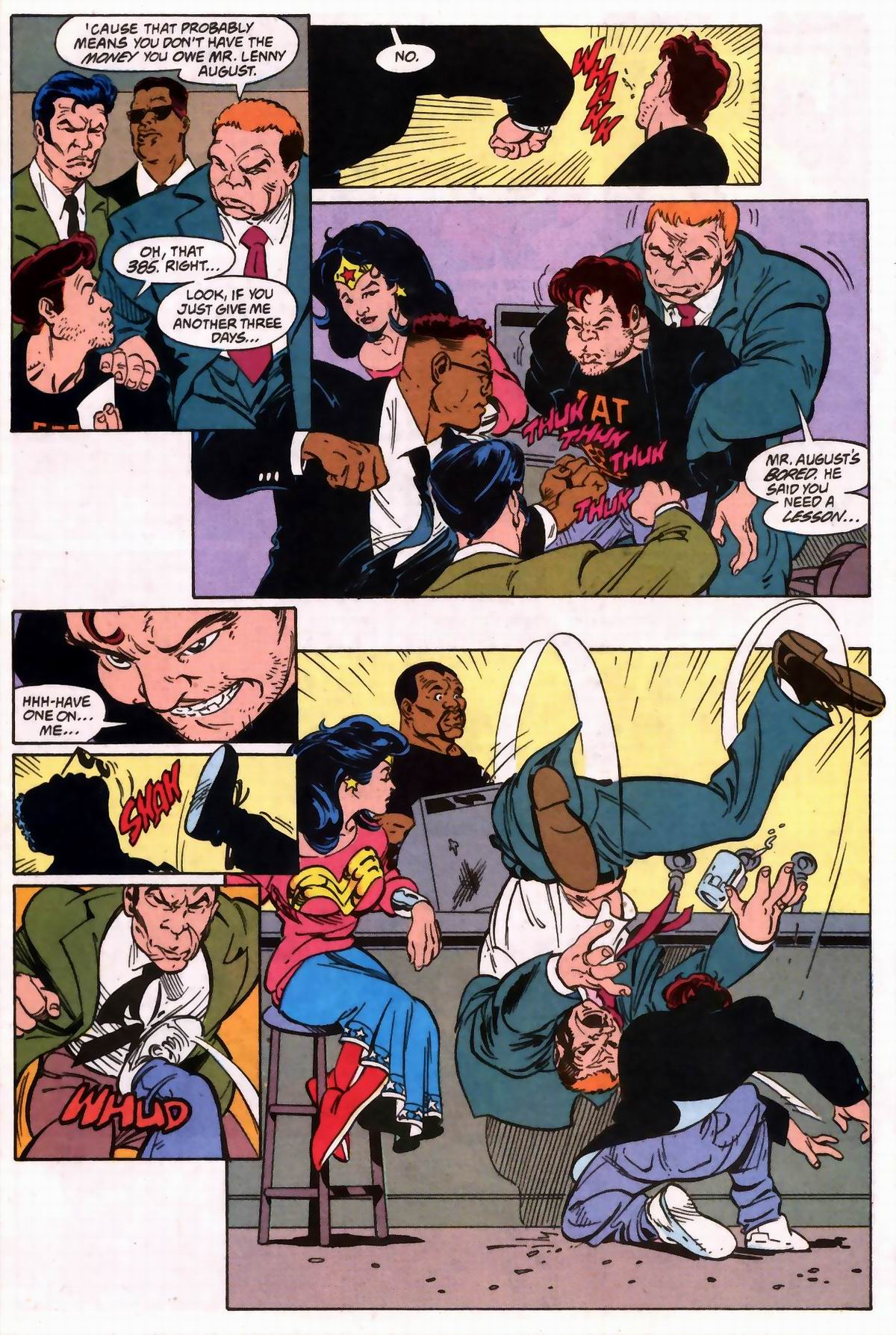 Read online Wonder Woman (1987) comic -  Issue #74 - 12