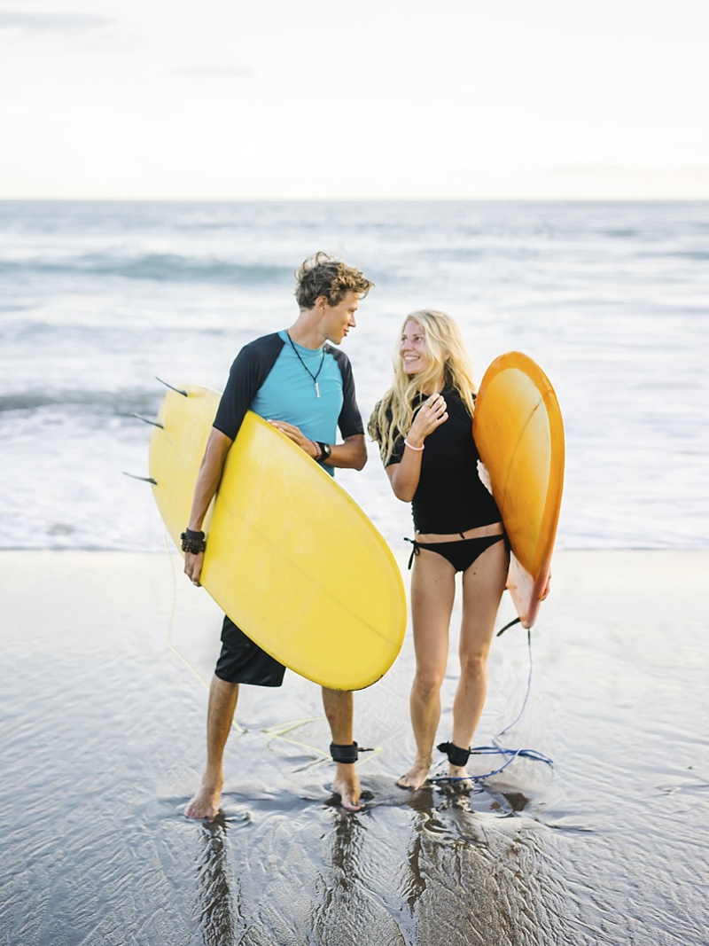 Romantic surfing in Bali vacation ideas