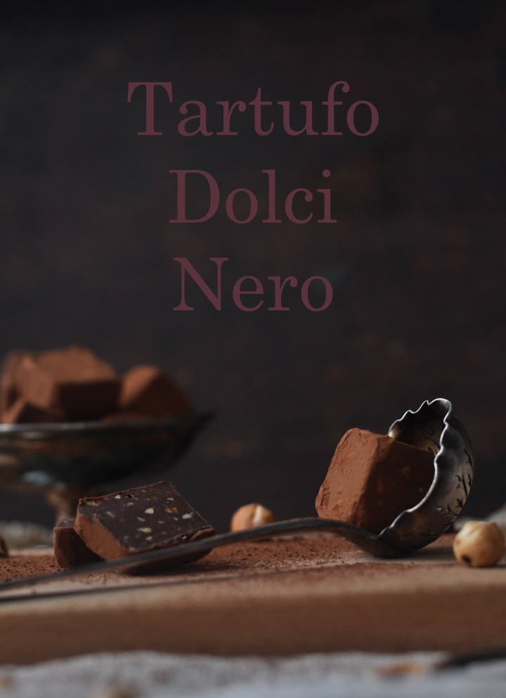 Tartufo Dolci Nero, a delicious treat for Italy (and it's gluten free, too!)