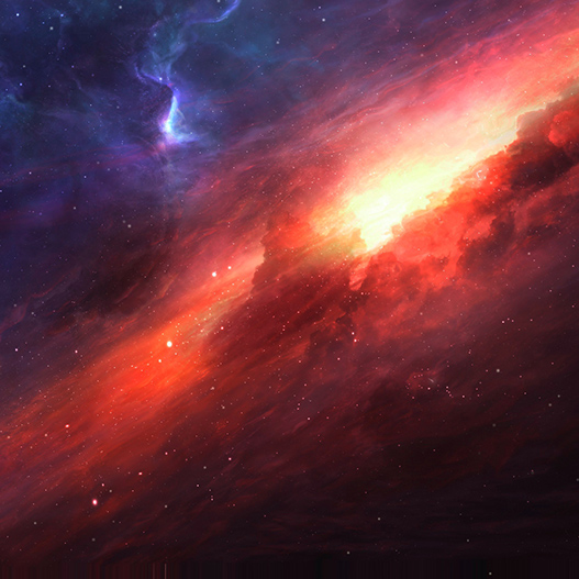 Red Nebula Wallpaper Engine