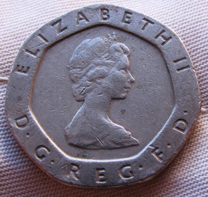 The Coin Has Seven Sides And Is About Size Of A U S Nickel It Also Higher Copper Composition Than Most Coins