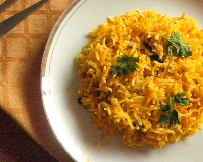 Pulao Recipe @ http://treatntrick.blogspot.com