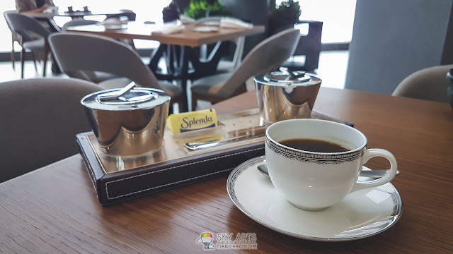 Morning coffee at E18hteen, Maxims Genting Executive 18th Floor (Crockfords)