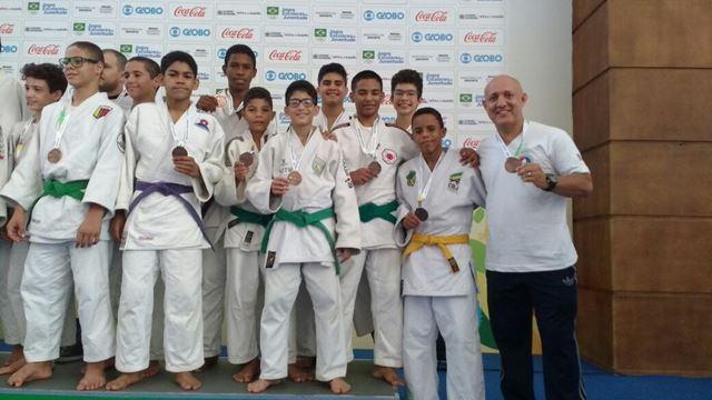 Judocas maranhenses garantem medalha de bronze nos Jogos Escolares da Juventude 2016