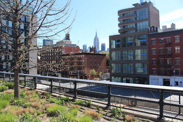 The High Line Empire State View