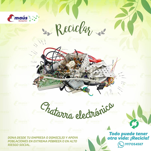 Reciclaje de chatarra en desuso en Lima