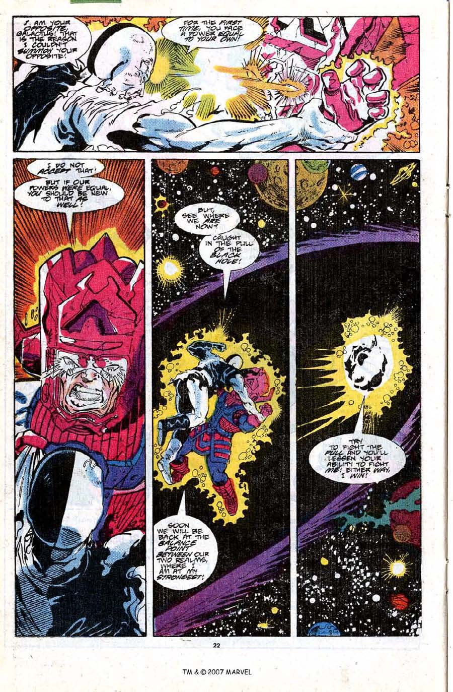 Read online Silver Surfer (1987) comic -  Issue #18 - 24