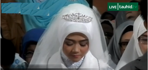 Aa Gym Nikahkan Putri Cantiknya, Bak Putri Raja