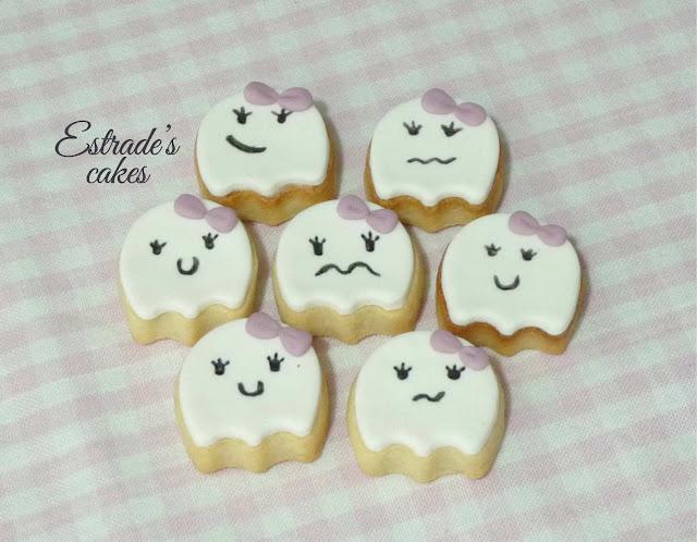 galletas de fantasmas, geniales para hacer con niños 4