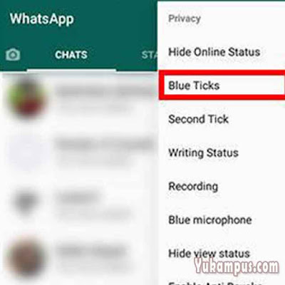 pengaturan blue ticks gbwhatsapp
