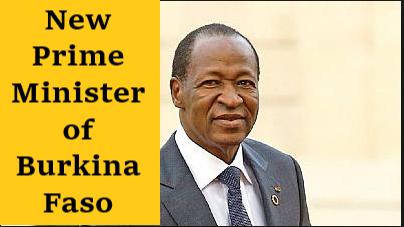 New Prime Minister of Burkina Faso