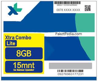 Cara Menggunakan Voucher Kuota XL Xtra Combo Lite