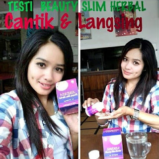 Sinensa Beauty Slim Herbal Original Pelangsing dan Pemutih Kulit BPOM