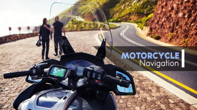 motorcycle gps and navigation system
