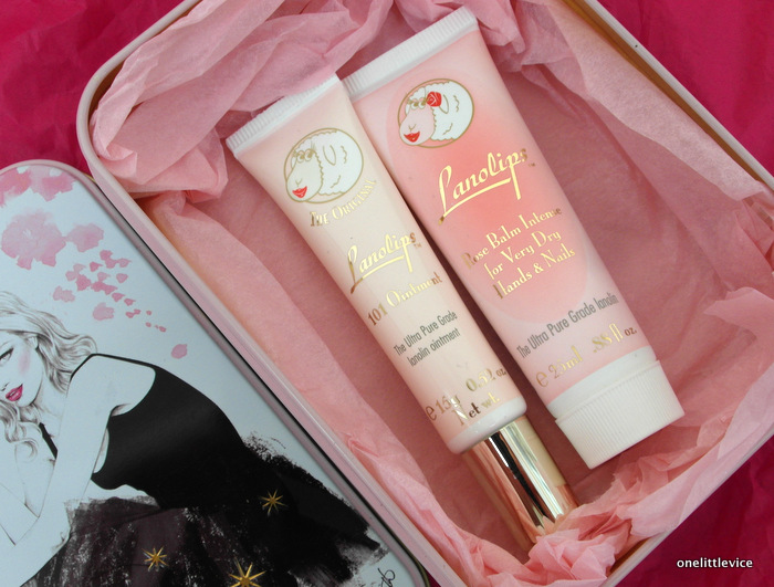 One Little Vice Beauty Blog: Lanolips Artists Tin Contents